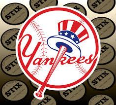 New York Yankees Logo Mbl Die Cut Vinyl Sticker Car Win