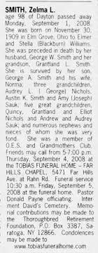 Zelma Smith Obit - Newspapers.com