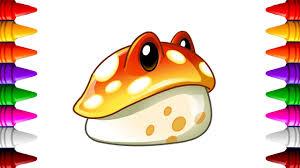 Toadstool Plant vs Zombie 2 | Dibujos para colorear