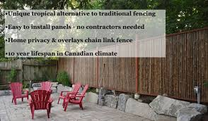 Bamboo Fencing By Bamboo Toronto