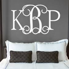 Hip Chick Monogram Personalized Wall Decal Jack And Jill Boutique