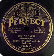 Smith Ballew And His Orchestra - Isle Of Capri / Tia Juana (Shellac) |  Discogs