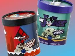 the joker and harley quinn themed ice