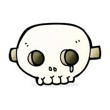 Cartoon Skull Maske — Stockvektor © lineartestpilot #101866930