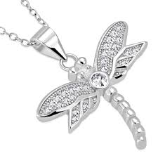 925 sterling silver white clear cz