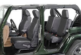 ballistic nylon seat cover combo