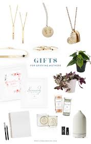 gift guide for grieving mothers the