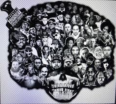 Hip Hop Legends Vinyl Decal Sticker 5 7 X 8 5 90 S Rap Hip Hop Afro For Sale Online