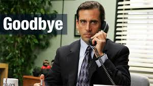 michael scott is out of the office