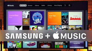 Apple Music on Samsung Smart TVs Hands-On! - YouTube