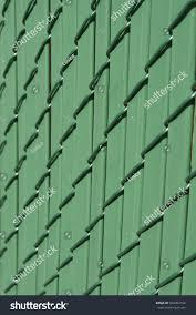 Green Diagonal Metallic Fence Chain Link Stock Photo Edit Now 564303154