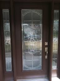glass bathroom entry door glass