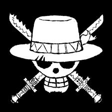 One Piece Straw Hat Jolly Roger Icon Cool Vinyl Car Window Truck Sticker Decal