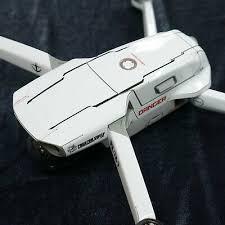Dji Mavic Air 2 Skin Wrap Decal White Spaceship 2nd Ebay