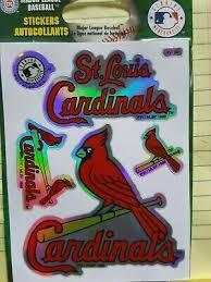 St Louis Cardinals 12 Mlb Team Logo 1 Color Vinyl Decal Sticker Car Window Wall