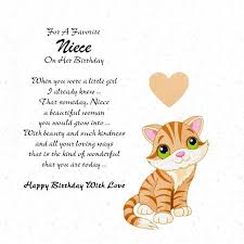 nice quotes birthday wishes for niece e card nice wishes