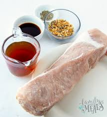 crockpot pork loin recipe video