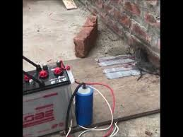 mouse trap using 12v battery
