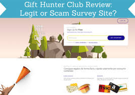 gift hunter club review legit or scam