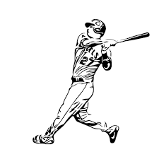 Mike Trout Id 1558525942944 Svg Vector Gallery Mike Trout Trout Oregon Ducks Football
