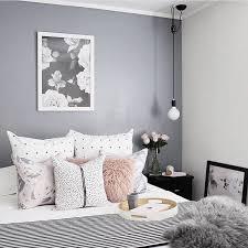 scandinavian style master bedroom
