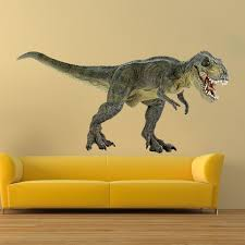 Dinosaur Wall Decal Trex Decal Animals Wall Decal Murals Dionsaur Bedroom Stickers Primedecals