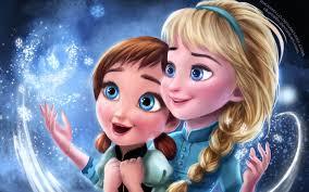 frozen elsa anna sisters wallpapers in