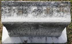 Effie Crouch Mitchell (1839-1865) - Find A Grave Memorial