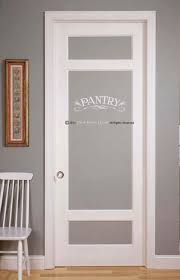 Pantry Or Laundry Decal For Wall Or Glass Door Etsy Doors Interior French Doors Interior Glass Pantry Door