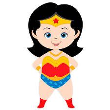 Kids Wall Sticker Wonder Woman Muraldecal Com