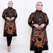 36 model tunik batik terbaru 2021 (modern & cantik). Jual Batik Modern Wanita 2020 Model Baju Batik Kerja Atasan Wanita Terbaru Kota Surakarta Talisepatuja Tokopedia