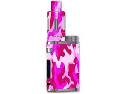 Skin Decal Vinyl Wrap For Eleaf Istick Pico 75w Vape Mod Pink Camo Camouflage Newegg Com