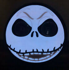 Chroma 42000 Nightmare Before Christmas Jack Skellington Window Shadez Decal