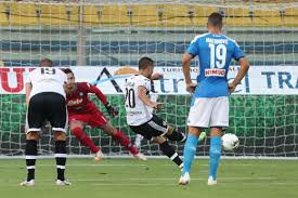 Penalties see Parma over the line against Napoli