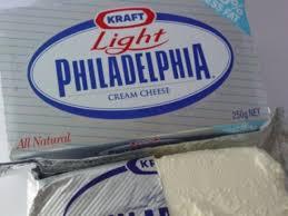 light cream cheese spread nutrition