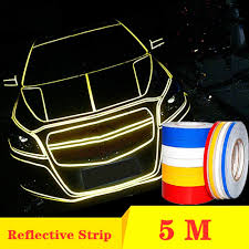Reflective Tape Car Stickers Funny Decal Diy Light Luminous Warning Glow Dark Night Tapes Sticker Safety Car Covers Accessories Car Stickers Aliexpress