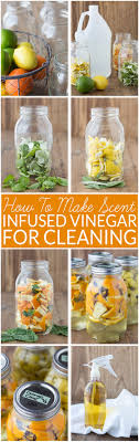 scented vinegar for cleaning