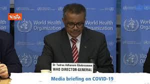Coronavirus, l'Oms dichiara la pandemia - YouTube