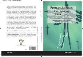 Publicacion De La Traduccion Al Frances De Fernando Rielo Un