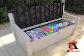 10 Clever Outdoor Toy Storage Ideas For Kids Playground