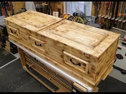 how to build a casket diy pine box