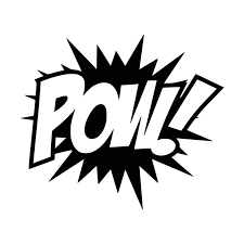 Comic Book Inspired Pow Vinyl Decal 0073 Etsy