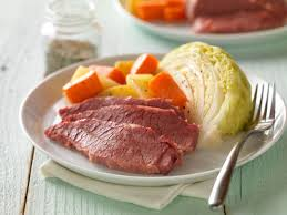Classic Corned Beef with Cabbage & Potatoes