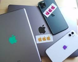 Apple Decal Etsy