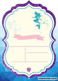 Free Printable Under The Sea Invitation Templates Invitaciones