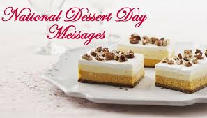 national dessert day love quotes and messages