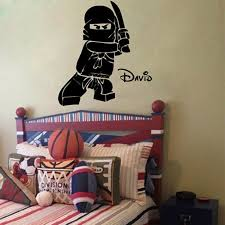 Personalized Ninjago Lego Wall Decor The Decal House