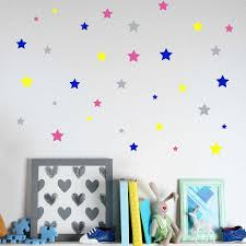 Cute Little Stars Wall Decal Colorful Stars Wall Stickers Nursery Decor Personalized Colors Wall Decal Baby Nursery Decor 711p Star Wall Decals Wall Decalsbaby Nursery Decor Aliexpress