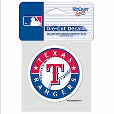 Mlb Accessories Mlb Texas Rangers Car Decal Sticker New Poshmark