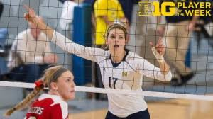 Michigan Heads to Rec Hall (Abby Cole Leads the Way)